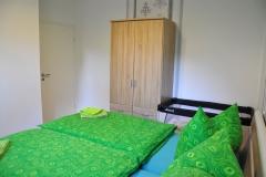 Ferienwohnung Schlafzimmer gross