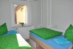Ferienwohnung Schlafzimmer klein