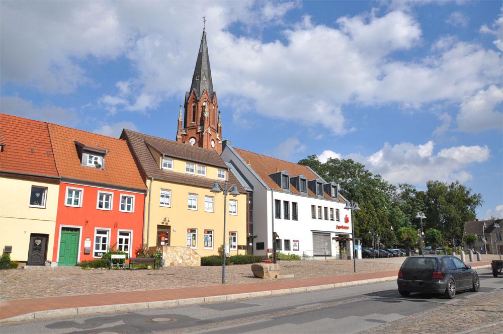 Marktplatz Burg Stragard