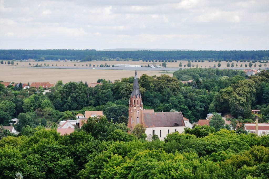Blick von der Höhenburg Stargard